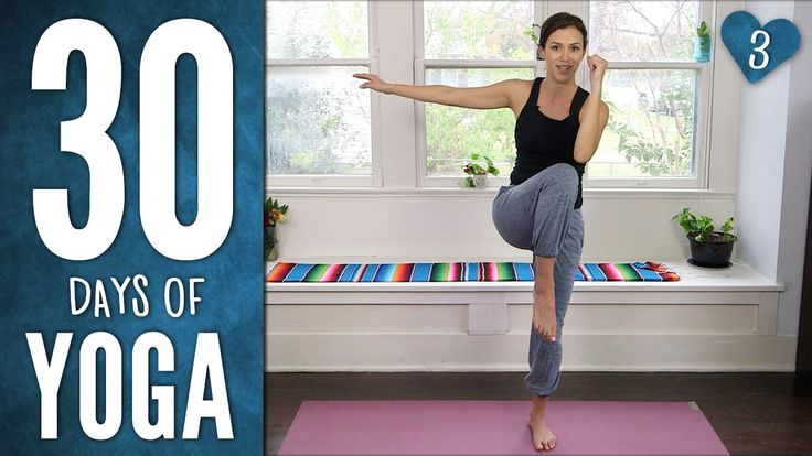 30 Days of Yoga playlist. Creator: Yoga with Adriene.  She is a great teacher!