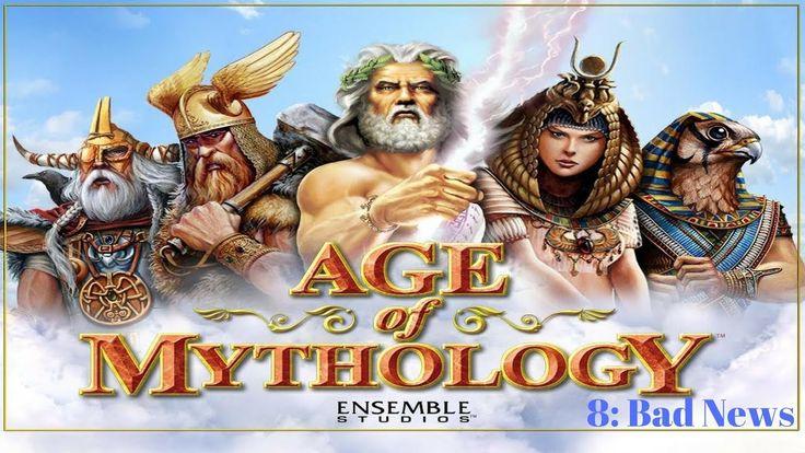 AGE OF MYTHOLOGY CAMPAIGN CONTINUE 8: BAD NEWS