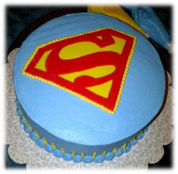 Cakes By Nichole: Superman Cake