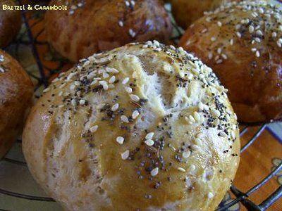 Bretzel & Carambole: Petits pains au yaourt