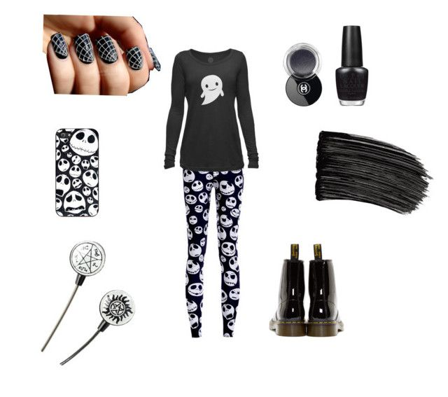 """"" by mara-dobrita on Polyvore featuring Dr. Martens, OPI, Chanel and L'Oréal Paris"