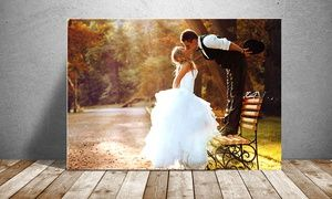 Groupon - Custom Photo Print on Metal with Free Shipping from PrinterPix (Up to 86% Off). Three Options Available. in [missing {{location}} value]. Groupon deal price: $9.99