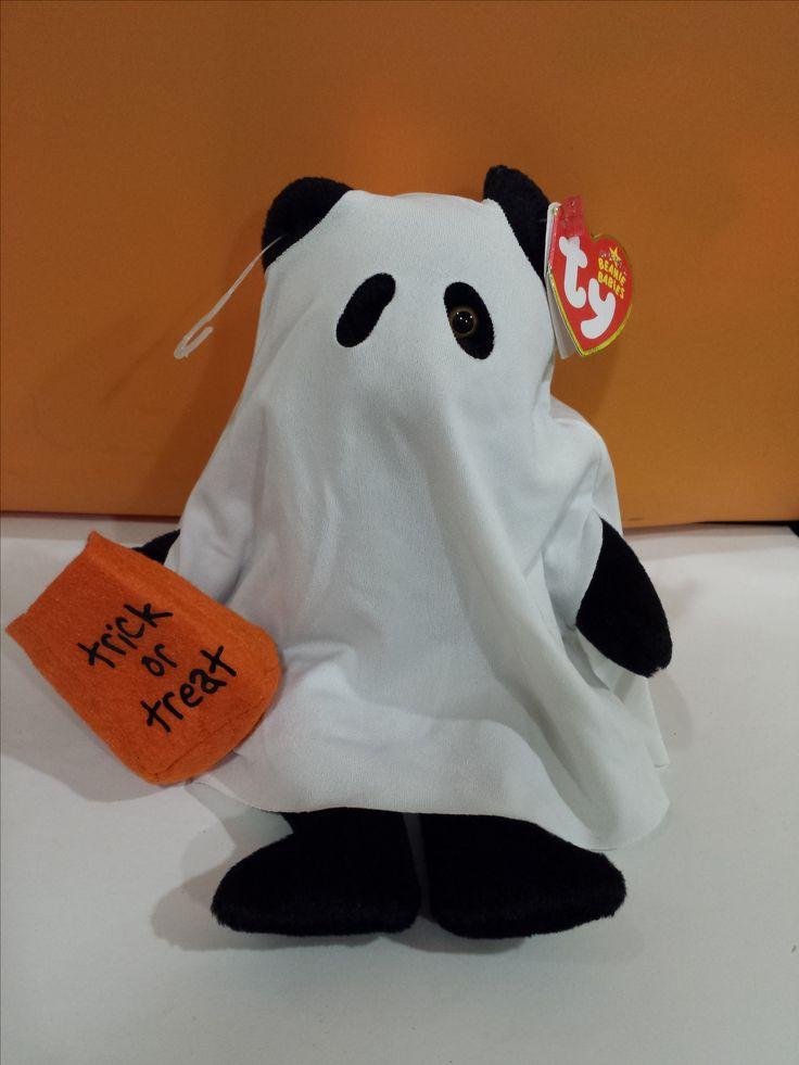 Halloween Ghost Bear TY