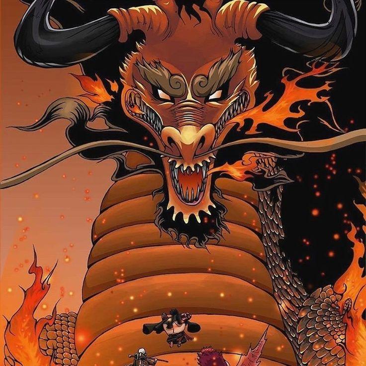 Kaido Of The Beasts Monkey D Luffy Luffytaro Straw Hat Pirates Mugiwaras Wano One Piece One Piece Anime One Piece Manga One Piece Chapter