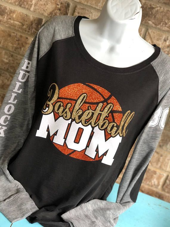 Personalized Basketball Shirt Basketball Mom Shirt