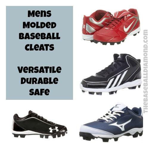 Mens Molded Baseball Cleats #baseball #sports Click to learn more.