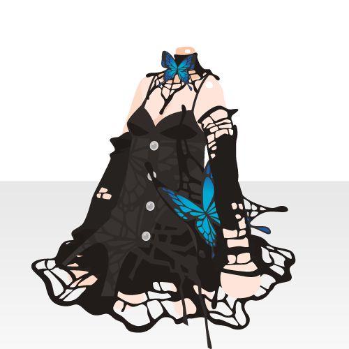 @trade   小悪魔のゴシックドレス(PL)
