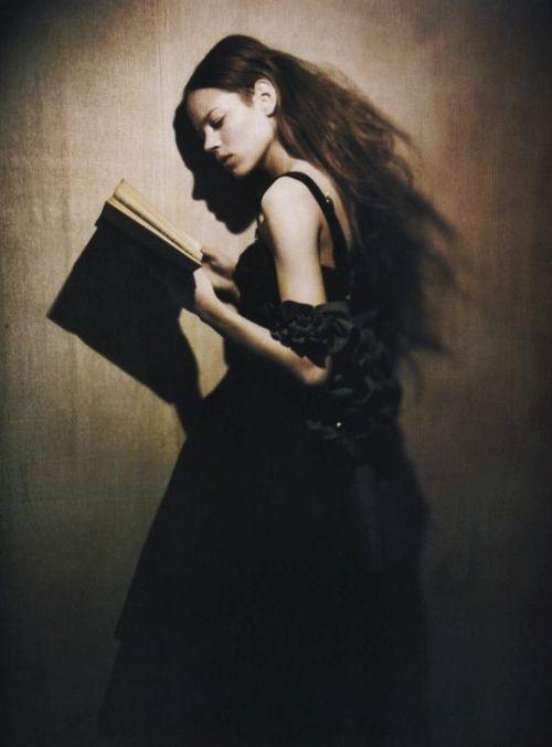 Freja Beha Erichsen by Paolo Roversi for Vogue Italy November 2007
