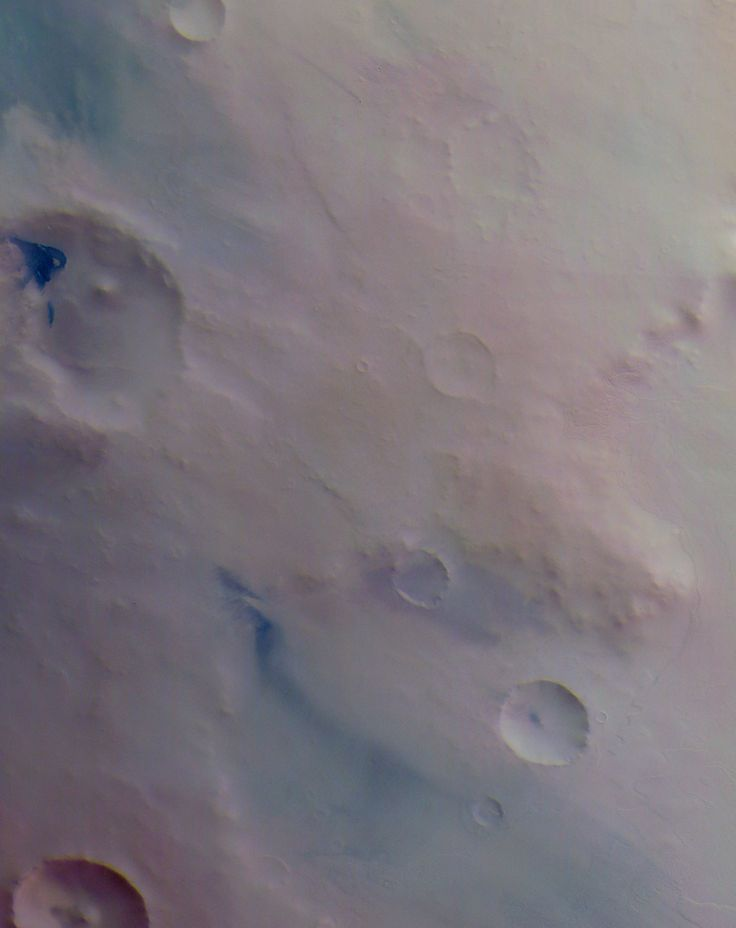 Surface of Mars, photographed by Mars Express, 22nd August 2007.