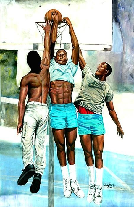 cool art for the basketball players | Art and Inspiration ...