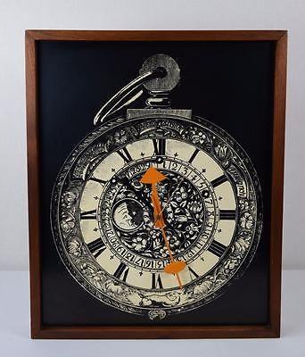 RARE-VTG-60s-MCM-George-Nelson-Howard-Miller-Arthur-Umanoff-Wall-Clock-Eames-Era
