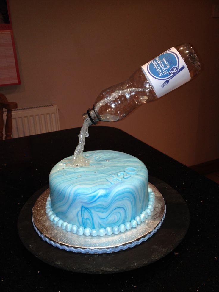 How To Make A Gravity Bottle Cake