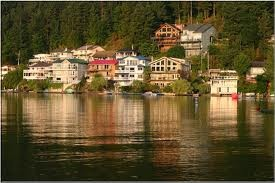 Cultus Lake Houses on other side