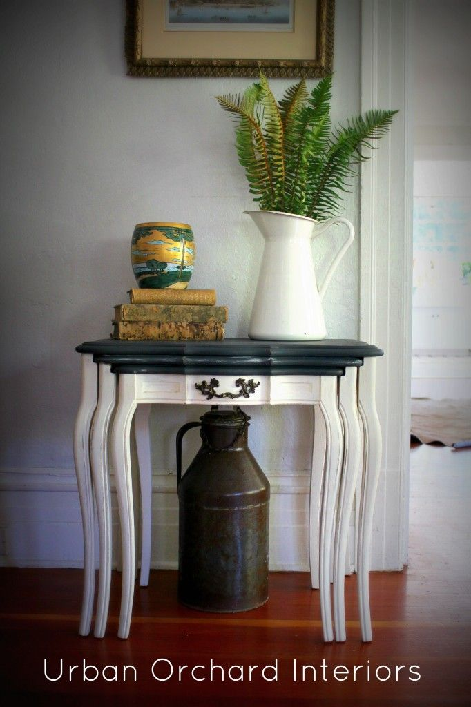 Nesting Tables simple colors