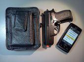 Concealment CCW Holster, Concealed Pocket Pistol Sig Sauer P238 .380 – BLACK