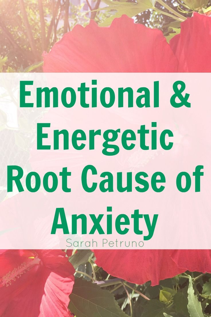 Root cause of anxiety from a spiritual and energetic perspective, and how I healed it in myself.