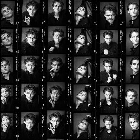 Leonardo DiCaprio Contact Sheet, Los Angeles, 1994
