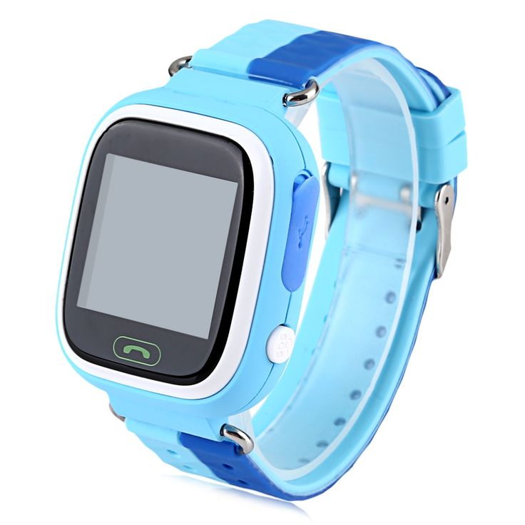 Original Colorful SOS GPS Smart Watch Micro SIM Car 1.22 Inch Screen Anti Lost Monitor Kids Smartwatch Q90 For IOS Android