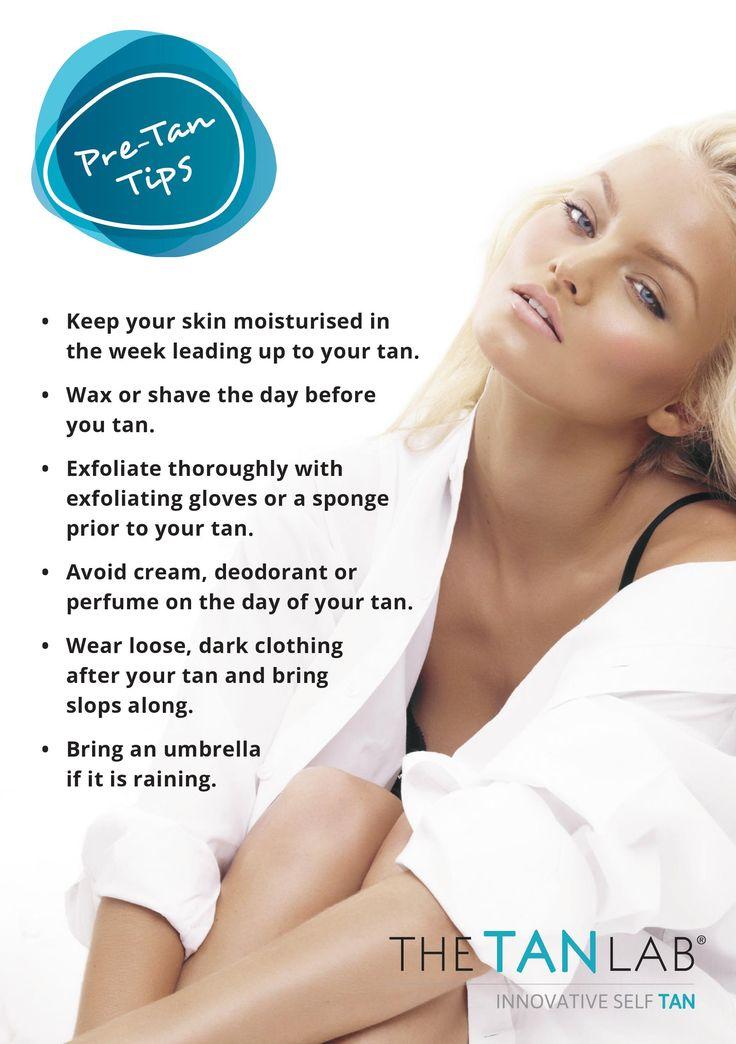 Home tan application instructions spray tan tips self
