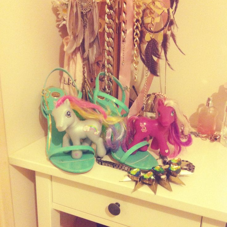 My little ponies in my old house