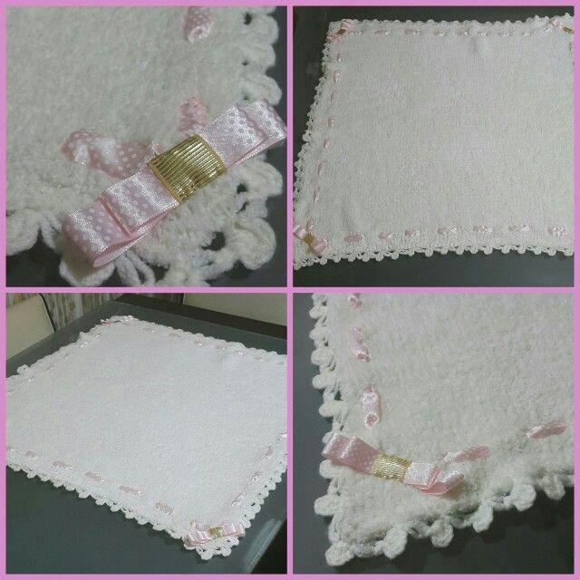 El yapımı bebek battaniyesi:)
