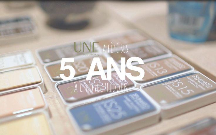 La soirée #UNEA5ANS à découvrir en vidéo !