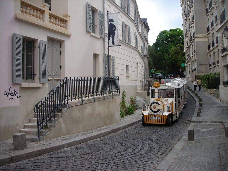 El trencito de Montmartre. Paris- Francia