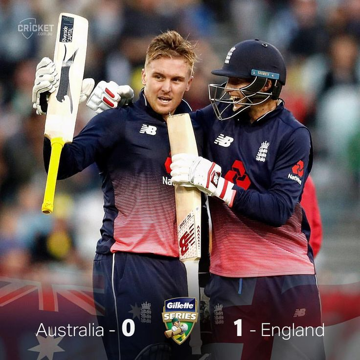 Jason Roy's record-breaking knock leads the way for England and they're on the board for the summer! #AUSvENG  via ✨ @padgram ✨(http://dl.padgram.com)