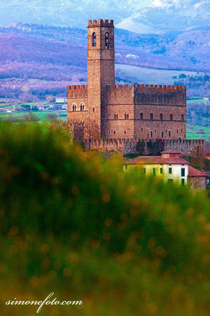Castello di Poppi, #Casentino, provincia di #Arezzo.