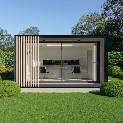 Eco Pod Ein umweltfreundliches Außenbüro, entworfen von Pod Space