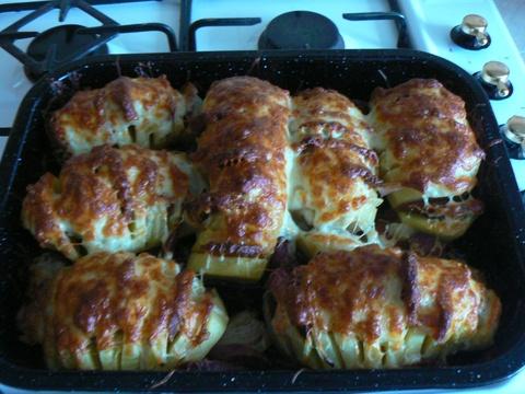 Fotorecept: Plnené pečené zemiaky