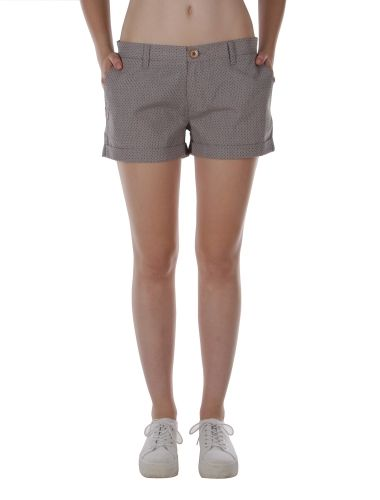Marlene Plus Short [grey-mel.] // IRIEDAILY Spring Summer 2015 Collection! - OUT NOW! // BOTTOMS - WOMEN: http://www.iriedaily.de/women-id/women-shorts/ // LOOKBOOK: http://www.iriedaily.de/blog/lookbook/iriedaily-spring-summer-2015/ #iriedaily