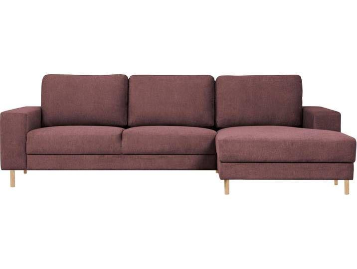 Home Affaire Ecksofa Nero Lila Luxus Microfaser Weich Couch