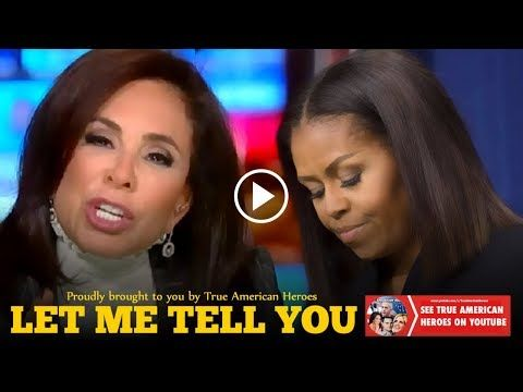 Judge Jeanine Pirro Takes Huge Risk, Exposes Michelle Obama Live on Air. - YouTube