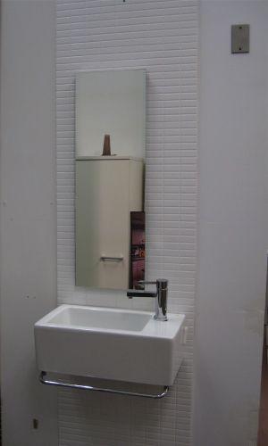 40 best Tiny powder room images on Pinterest | Bathroom ...