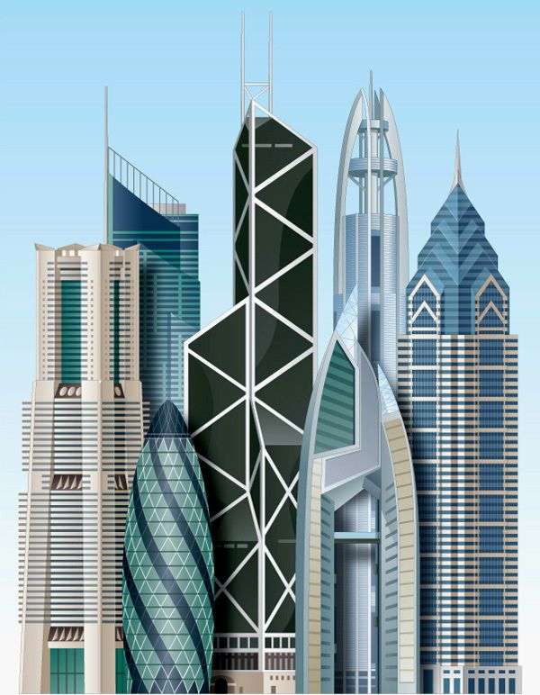 Architectural Illustration By Kenneth Batelman, Via Behance