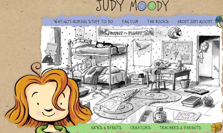 Judy Moody Online fun: www.judymoody.com/