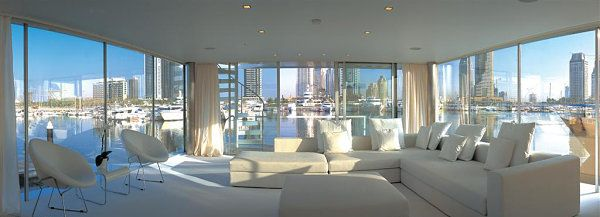 Luxury houseboats, gorgeous designs and views!