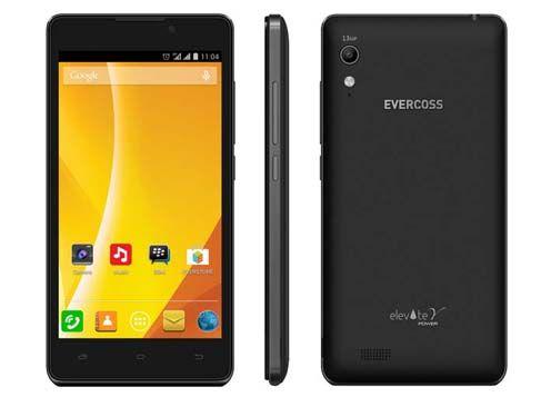 Harga Evercoss Elevate Y Power, Spesifikasi Android Kitkat Kamera 13 MP Baterai 4250 MAH