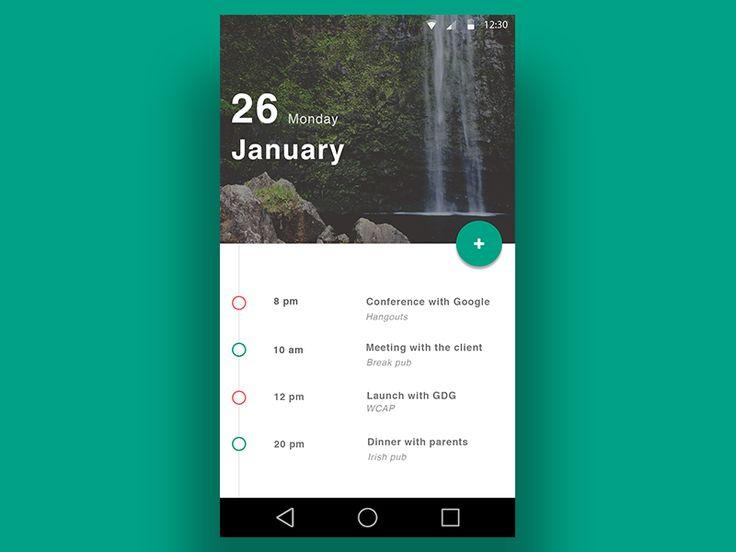 Calendar - Material Design