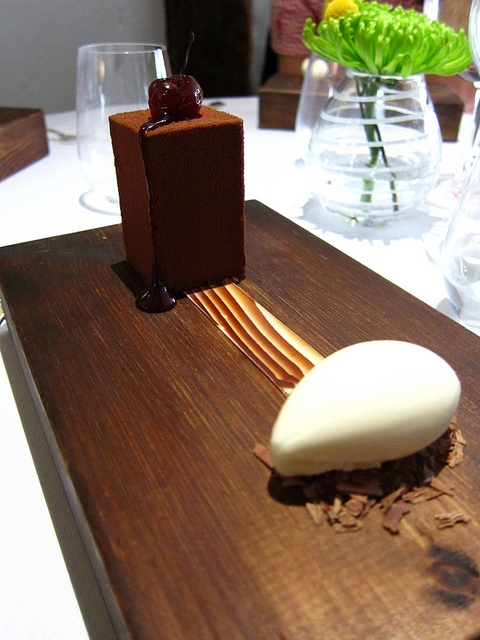 The BFG - Black Forest Gateau, The Fat Duck, Bray, England.  3 Michelin Stars