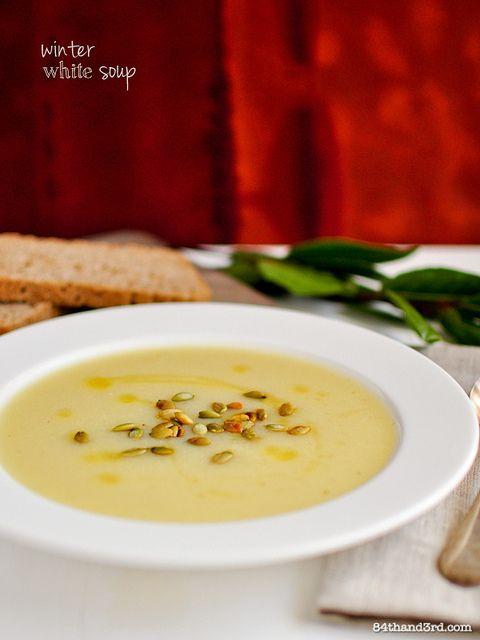 Winter White Soup | Vegan Om Noms | Pinterest