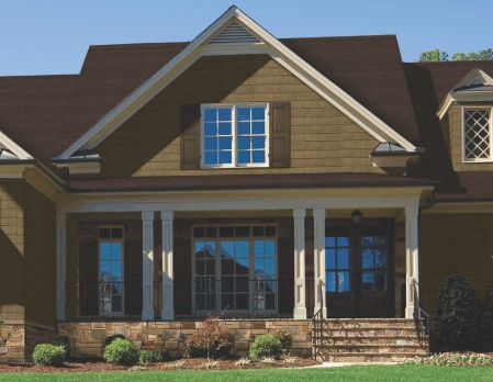 8 best images about vinyl siding on pinterest for Exterior siding that looks like wood