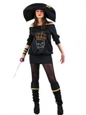 Disfraz de Pirata Strass. Disfrazate con este orignal #disfraces #piratas
