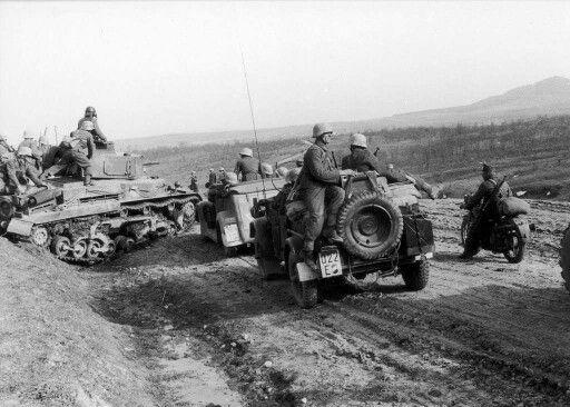 Hungarian Reconnaissance unit April 1944