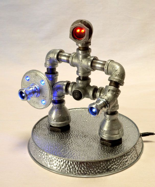 Cool Looking Lamps 75 best robot lamp images on pinterest | pipe lamp, lighting ideas