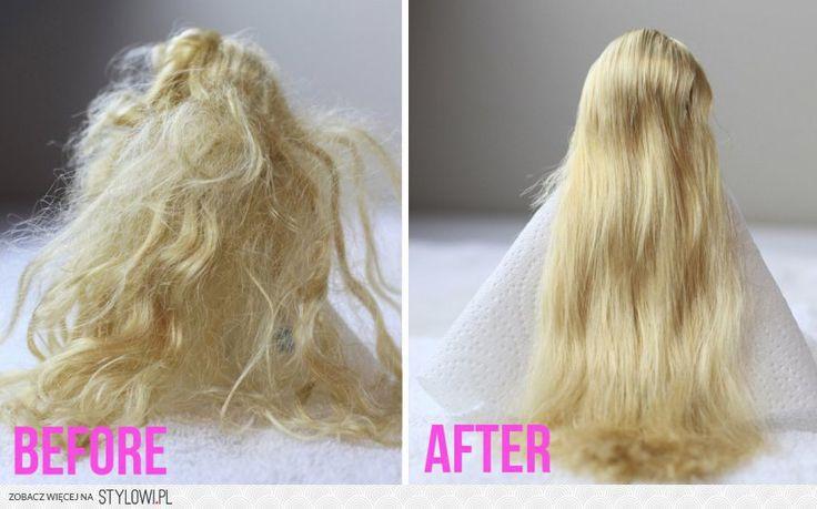 Jak rozczesać splątane włosy Barbie Wymieszaj 1 część… na Stylowi.pl