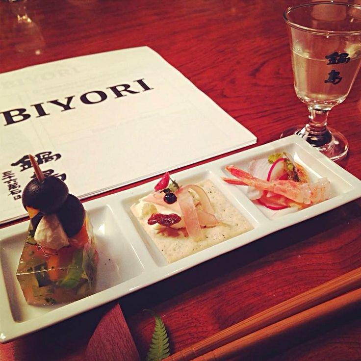 日本酒イベントのアパタイザー
