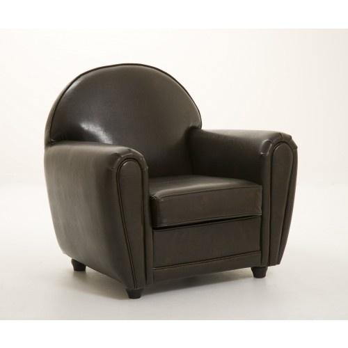 Fauteuil club marron   http://www.cotedeco.com/canapes-fauteuils/fauteuils/fauteuil-club-vinyl-paco-marron.html