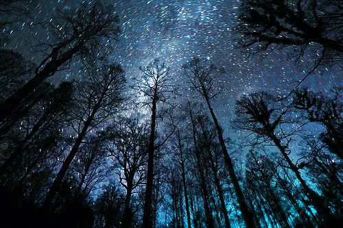 A quiet night under the stars....